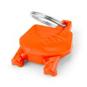 CYCRA 1CYC-0002-22 NUMBER PLATE KEY CHAIN ORANGE