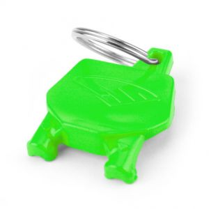 CYCRA 1CYC-0002-72 NUMBER PLATE KEY CHAIN GREEN