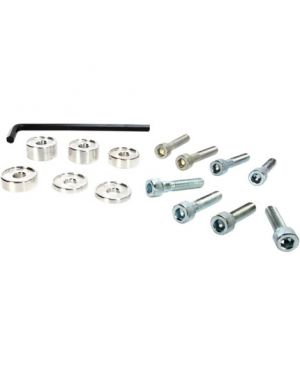 MOOSE RACING 23-016 HANDLEBAR RISER KIT NATURAL