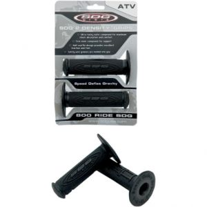 "SDG 99114 2-DENSITY ATV GRIPS FOR 7/8"" BLACK"