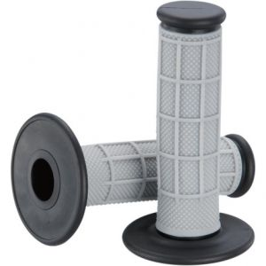 MOOSE RACING 1MG0715-EBM QUALIFIER™ HALF WAFFLE GRIPS GRAY/BLACK