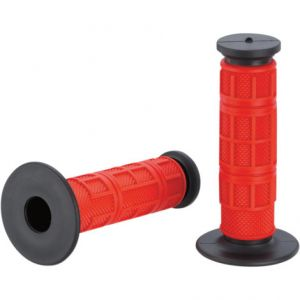 MOOSE RACING MG-11-RBM QUALIFIER™ FULL WAFFLE GRIPS RED/BLACK