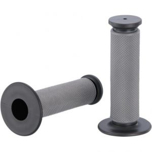 MOOSE RACING MG-12-XBM QUALIFIER™ FULL DIAMOND GRIPS GRAY/BLACK