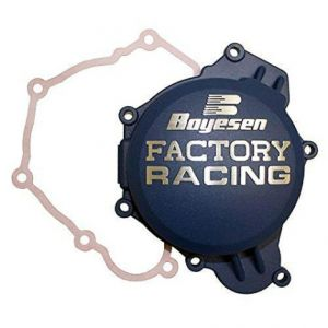 BOYESEN SC-41CL IGNITION COVER FACTORY RACING ALUMINUM REPLACEMENT BLUE