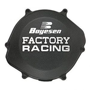 BOYESEN CC-18AB CLUTCH COVER FACTORY RACING ALUMINUM STANDARD | REPLACEMENT BLACK