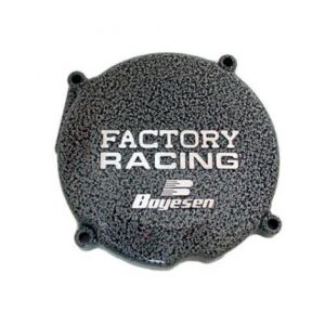 BOYESEN SC-02 IGNITION COVER FACTORY RACING ALUMINUM REPLACEMENT SILVER | BLACK