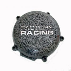 BOYESEN SC-13 IGNITION COVER FACTORY RACING ALUMINUM REPLACEMENT SILVER | BLACK
