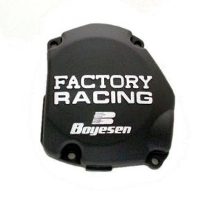 BOYESEN SC-21CB IGNITION COVER FACTORY RACING ALUMINUM REPLACEMENT BLACK