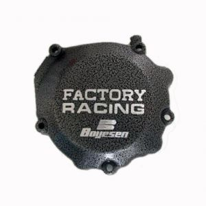 BOYESEN SC-32 IGNITION COVER FACTORY RACING ALUMINUM REPLACEMENT SILVER | BLACK