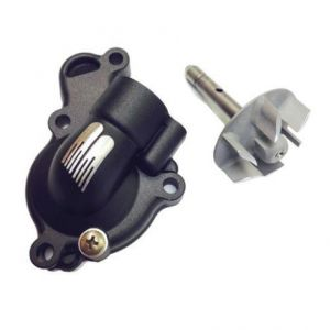 BOYESEN WPK-37AB WATER PUMP COVER & IMPELLER KIT SUPERCOOLER ALUMINUM NAUTILUS POWDER-COATED BLACK