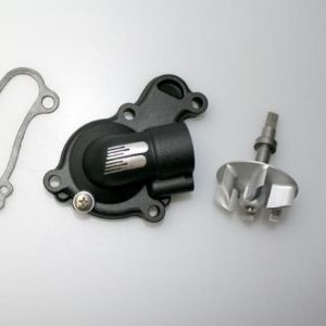 BOYESEN WPK-38CB WATER PUMP COVER & IMPELLER KIT SUPERCOOLER ALUMINUM NAUTILUS POWDER-COATED BLACK