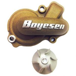 BOYESEN WPK-45M WATER PUMP COVER & IMPELLER KIT SUPERCOOLER ALUMINUM NAUTILUS POWDER-COATED MAGNESIUM