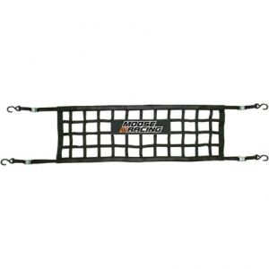 MOOSE RACING MTO-05-100 MOTO GATE LOAD RESTRAINT CARGO NET BLACK
