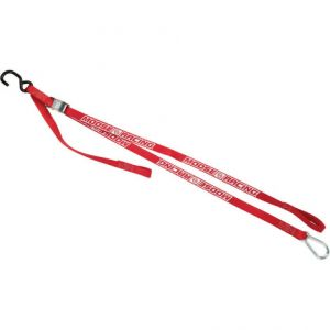 MOOSE RACING 3920-0355 CARABINER TIE-DOWN 7' RED