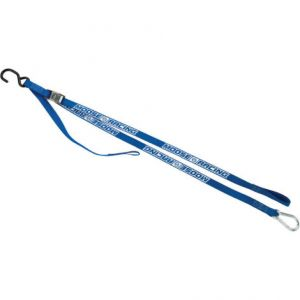 MOOSE RACING 3920-0356 CARABINER TIE-DOWN 7' BLUE