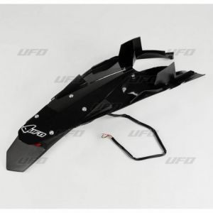 UFO HU03344-001 ENDURO REAR FENDER W/ LED-LIGHT HUSQVARNA TC/TE 449/511 BLACK