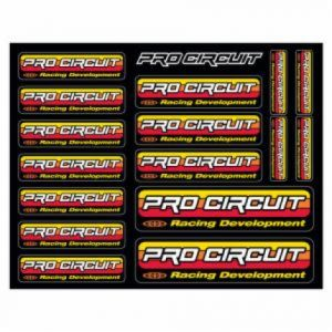 PRO CIRCUIT DC96OL LOGO DECAL SHEET