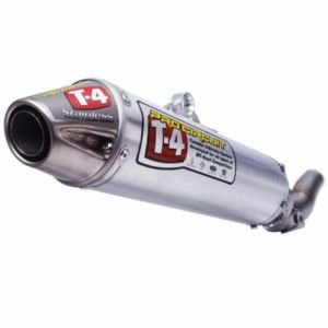 PRO CIRCUIT 4QY06450 SLIP-ON MUFFLER/SILENCER T-4 STAINLESS ALUMINIUM ATV