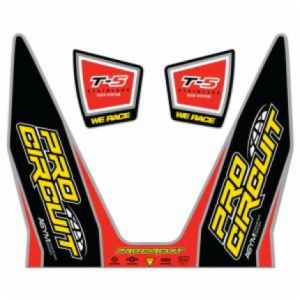 PRO CIRCUIT DC12T5 EXHAUST STICKER KIT T-5