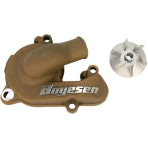 BOYESEN WPK-44M WATER PUMP COVER & IMPELLER KIT SUPERCOOLER ALUMINUM NAUTILUS POWDER-COATED MAGNESIUM