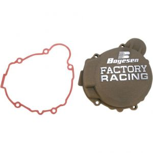 BOYESEN SC-41AM IGNITION COVER FACTORY RACING ALUMINUM REPLACEMENT POWDER-COATED MAGNESIUM