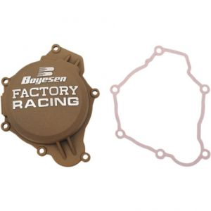 BOYESEN SC-41CM IGNITION COVER FACTORY RACING ALUMINUM REPLACEMENT POWDER-COATED NATURAL