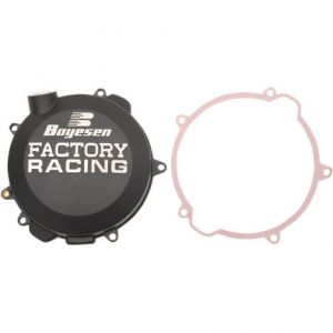 BOYESEN CC-41AB CLUTCH COVER FACTORY RACING ALUMINUM REPLACEMENT BLACK