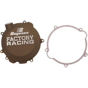 BOYESEN CC-41AM CLUTCH COVER FACTORY RACING ALUMINUM REPLACEMENT MAGNESIUM