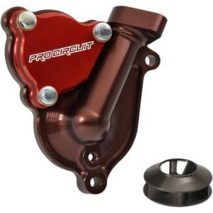 PRO CIRCUIT WPK17250 WATER PUMP COVER WITH IMPELLER