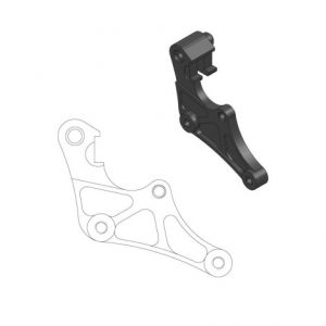 MOTO-MASTER 211074 RELOCATION BRACKET BRAKE CALIPER SM STREET 320MM