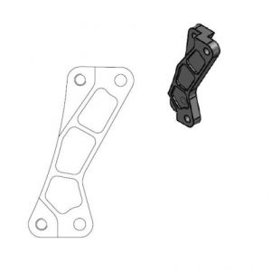 MOTO-MASTER 211076 RELOCATION BRACKET BRAKE CALIPER SM STREET 320MM
