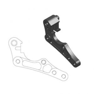 MOTO-MASTER 211080 RELOCATION BRACKET BRAKE CALIPER 270MM BLACK