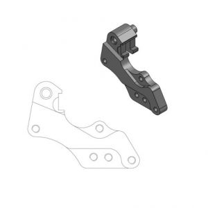 MOTO-MASTER 211042 RELOCATION BRACKET BRAKE CALIPER RALLY/DAKAR 298MM