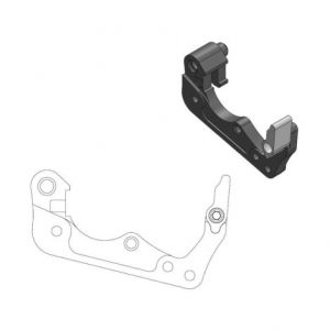 MOTO-MASTER 211063 RELOCATION BRACKET BRAKE CALIPER 260MM BLACK