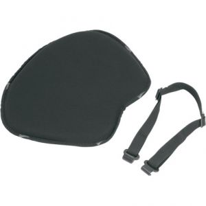 SADDLEMEN 200J SOLO SEAT PAD SOFT STRECH XL FRONT FABRIC|SADDLEGEL™ BLACK