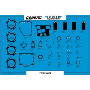 "COMETIC C9745 CYLINDER HEAD GASKET MLS STD BORE 0.040"" TC 88""/96"""