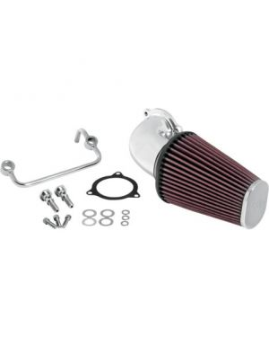 K & N 63-1122P AIR INTAKE KIT POLISHED HD