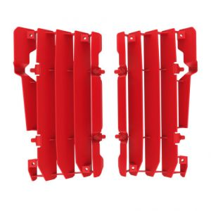 POLISPORT 8454400001 RADIATOR GUARDS RED