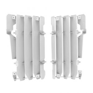 POLISPORT 8454400002 RADIATOR GUARDS WHITE