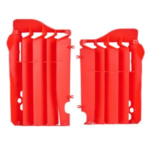 POLISPORT 8455800002 RADIATOR GUARDS RED