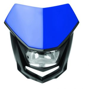 POLISPORT 8657400005 HALO HALOGEN HEADLIGHT APPROVED 12V/35/5W BLUE