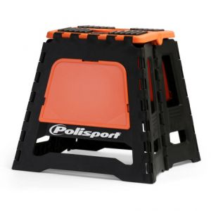 POLISPORT 8981500002 PIT BIKE STAND FOLDABLE POLISPORT LOGO ORANGE