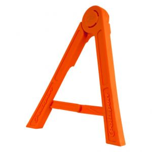 POLISPORT 8981700002 TRIPOD PIT SIDE STAND FOLDABLE POLISPORT LOGO ORANGE