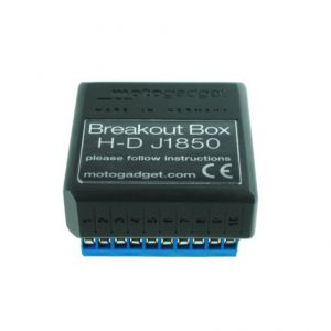 MOTOGADGET 1003116 MOTOSCOPE PRO BREAKOUT BOX J1850 ADAPTER MODULE H-D VRSC DEUTSCH PLUG