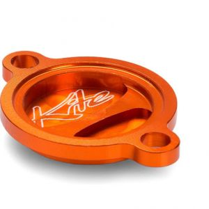 KITE 09.126.0.AR OIL FILTER COVER ORANGE
