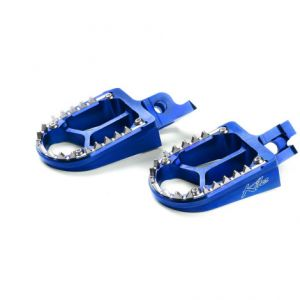 KITE 29.100.0.BL FOOTPEGS MX-EN ALUMINIUM CUSTOM REPLACEMENT BLUE