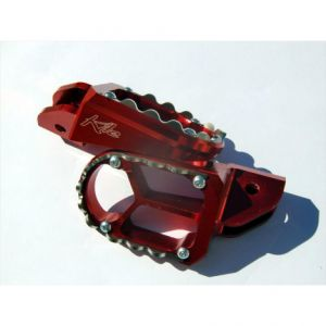 KITE 31.030.0.RO FOOTPEGS BMW ALUMINIUM CUSTOM REPLACEMENT RED