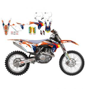 BLACKBIRD RACING 2538R14 REPLICA KTM TROPHY 2017 GRAPHIC KIT
