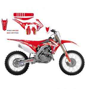 BLACKBIRD RACING 8145R17 REPLICA TEAM HONDA HRC 2017 GRAPHIC + SEAT COVER KIT