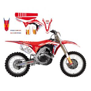BLACKBIRD RACING 8146R17 REPLICA TEAM HONDA HRC 2017 GRAPHIC + SEAT COVER KIT